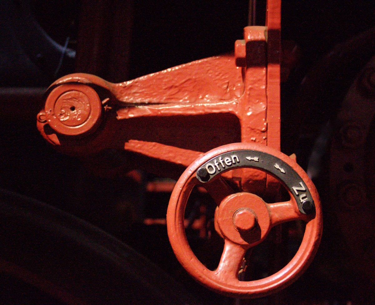 Dampflok BR52 Detail 1